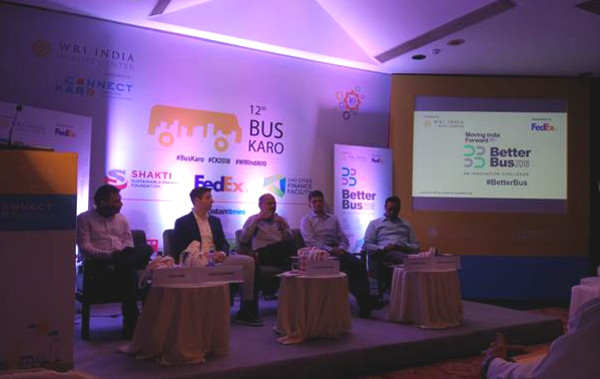 DIMTS participation during WRI India at 10, 12th Bus Karo Connect Karo 2018, held at New Delhi.
