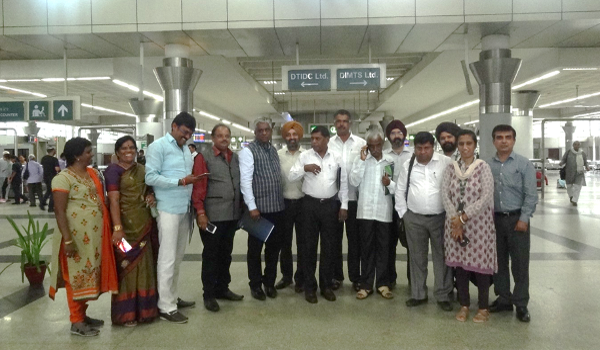 Bangalore Metropolitan Transport Corporation (BMTC) visit to DIMTS