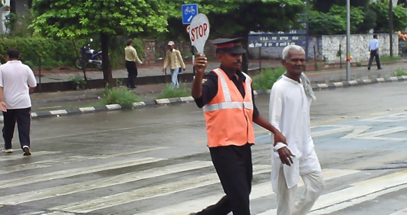 Marshals at the BRT Corridor