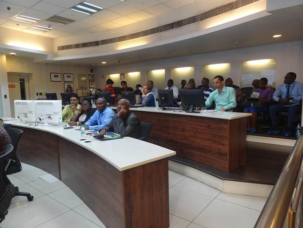 African regulators visit to DIMTS –OCC  on 24-10-2017
