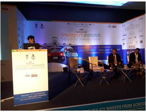DIMTS participation during National Transport Summit, Ahemdabad